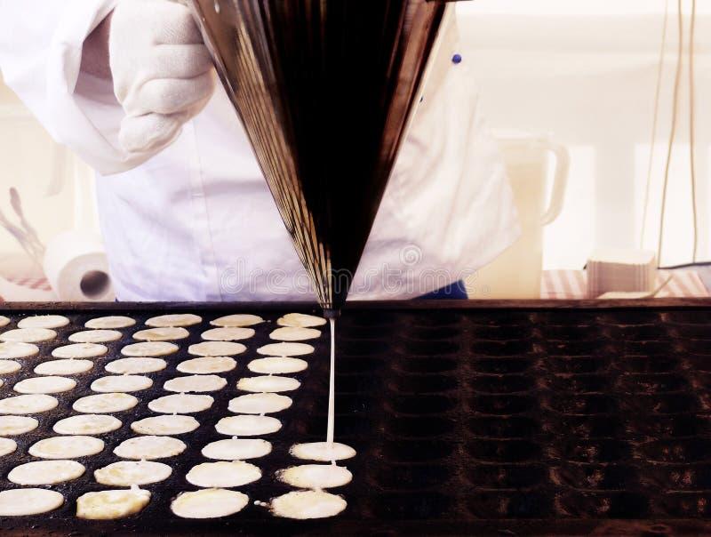 ολλανδικές τηγανίτες στοκ εικόνα με δικαίωμα ελεύθερης χρήσης