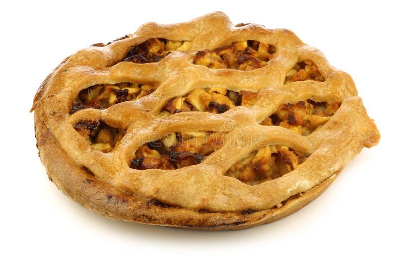 ολλανδική πίτα μήλων παραδοσιακή στοκ εικόνα με δικαίωμα ελεύθερης χρήσης