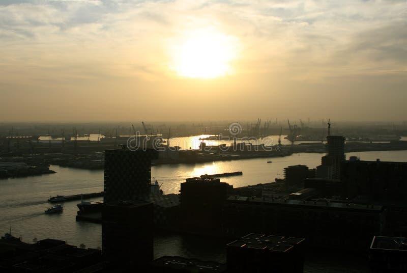ολλανδική Ρότερνταμ όψη στοκ φωτογραφίες