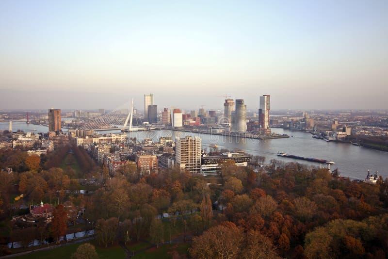 ολλανδική Ρότερνταμ όψη στοκ φωτογραφία με δικαίωμα ελεύθερης χρήσης