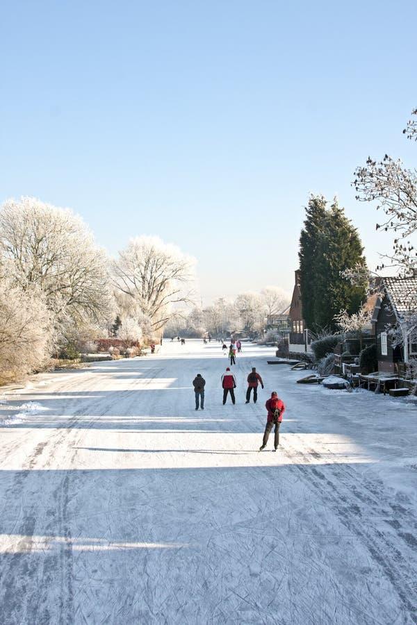 ολλανδικός χειμώνας στοκ εικόνα