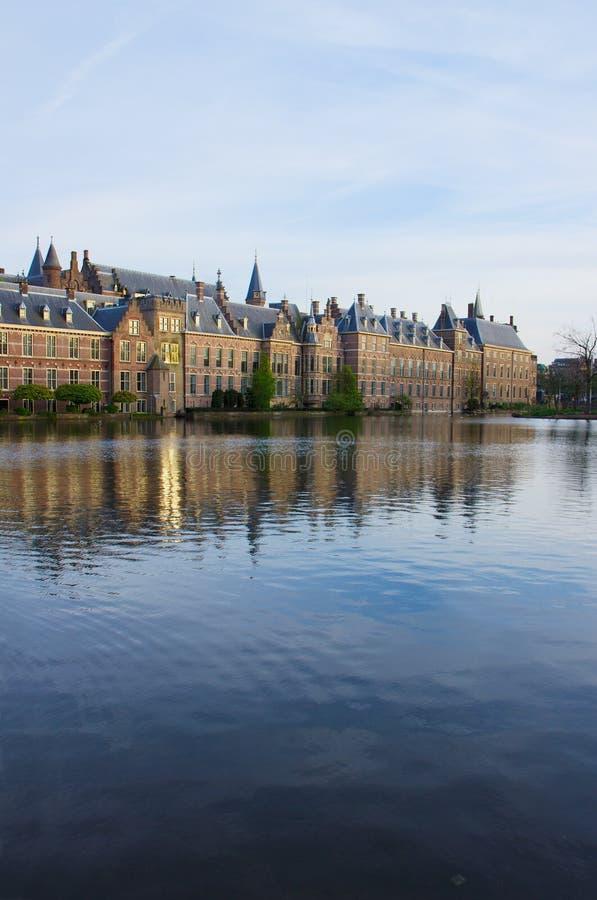 ολλανδικό Κοινοβούλιο haag κρησφύγετων το ολλανδικό στοκ εικόνα