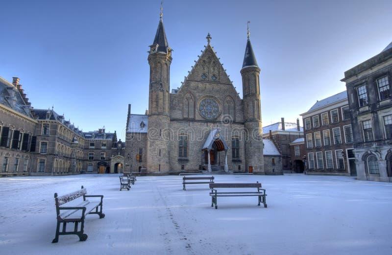 ολλανδικό χιόνι των Κοιν&omicr στοκ φωτογραφία
