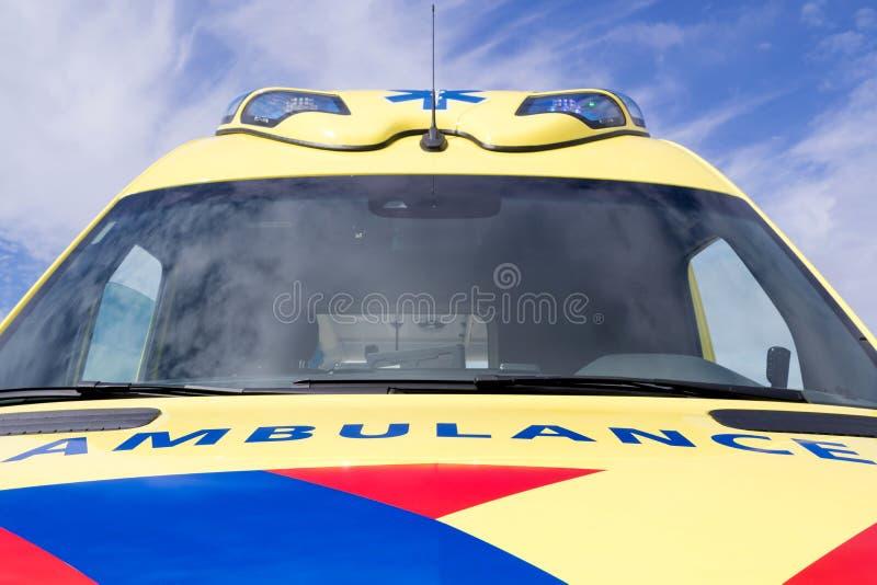 Ολλανδικό όχημα ασθενοφόρων στοκ φωτογραφία με δικαίωμα ελεύθερης χρήσης