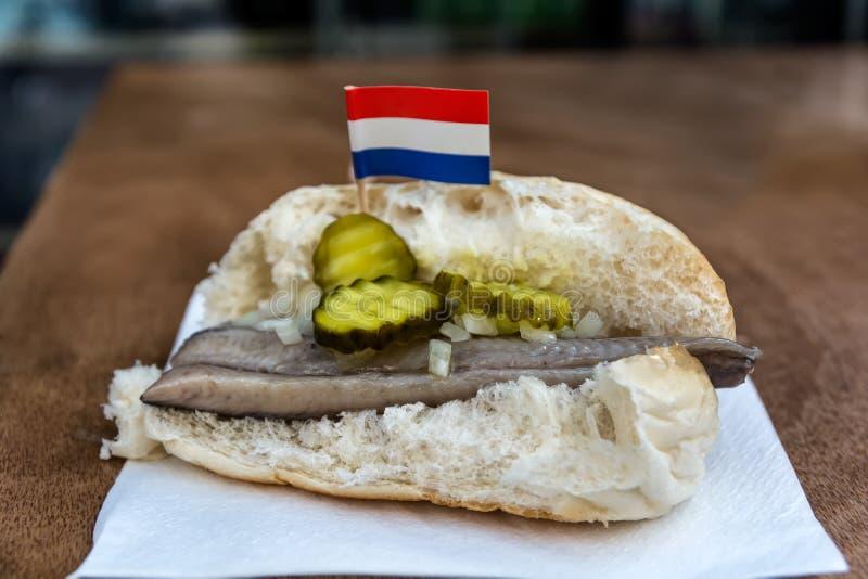 Ολλανδικό broodje στοκ φωτογραφίες