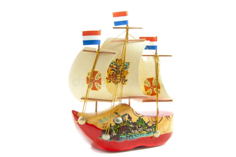 ολλανδικό sailboat στοκ εικόνα με δικαίωμα ελεύθερης χρήσης