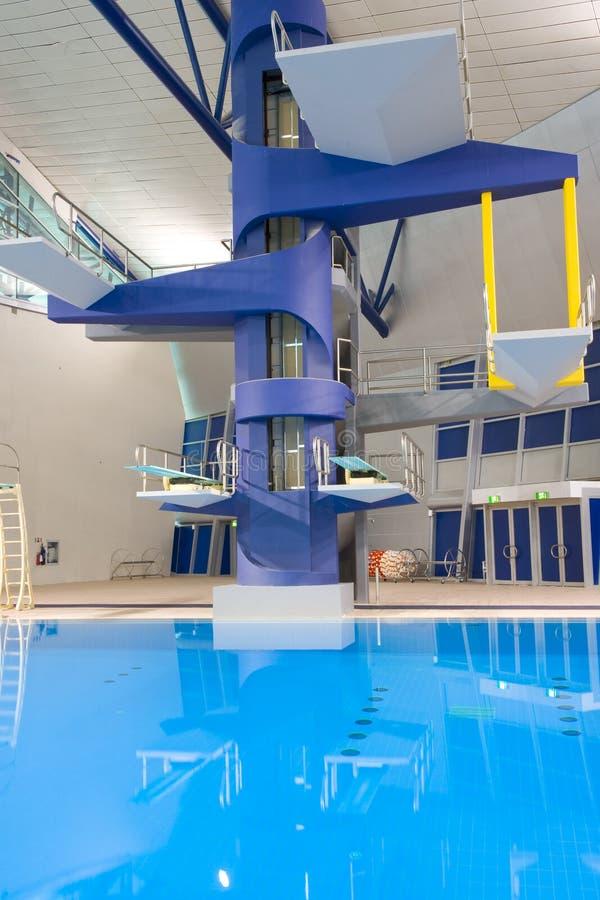 ολυμπιακές πλατφόρμες κ&a στοκ εικόνες