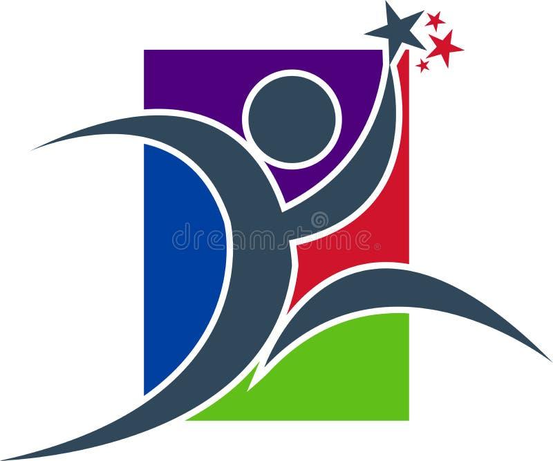ολυμπιακός δρομέας ελεύθερη απεικόνιση δικαιώματος