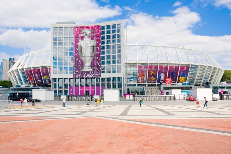 Ολυμπιακό ανανεωμένο αθλητικό στάδιο 16 Ιουνίου ki Κίεβο στοκ φωτογραφία με δικαίωμα ελεύθερης χρήσης