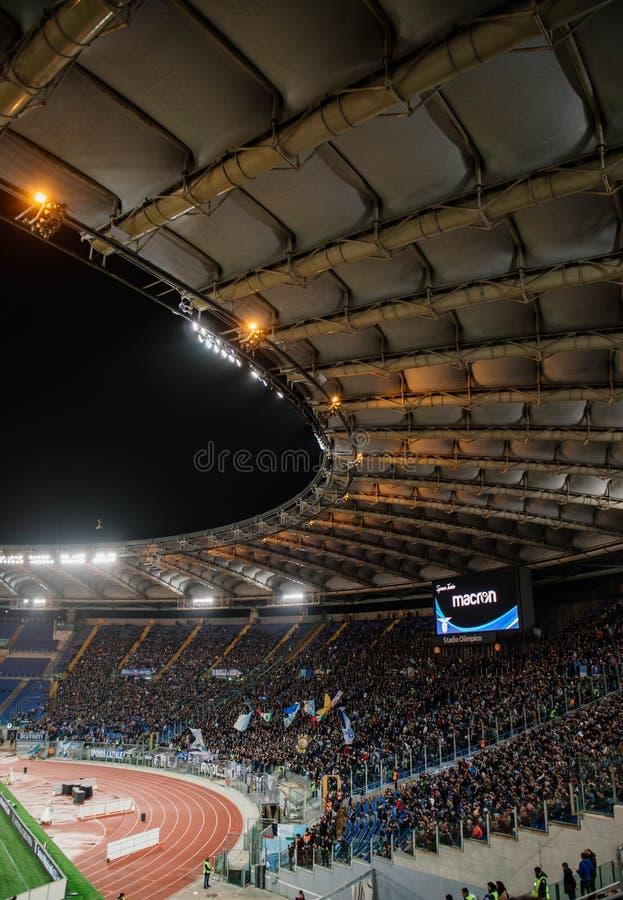 Ολυμπιακό στάδιο στη Ρώμη, Ιταλία στοκ φωτογραφία με δικαίωμα ελεύθερης χρήσης