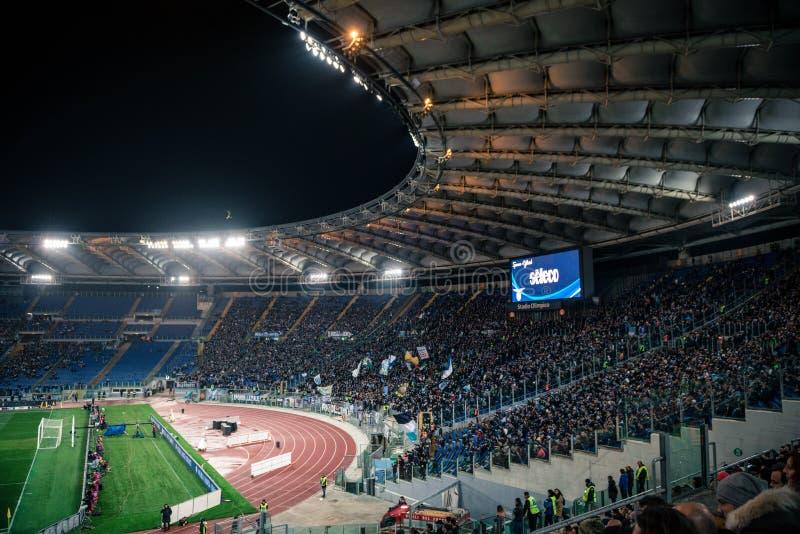 Ολυμπιακό στάδιο στη Ρώμη, Ιταλία στοκ φωτογραφίες