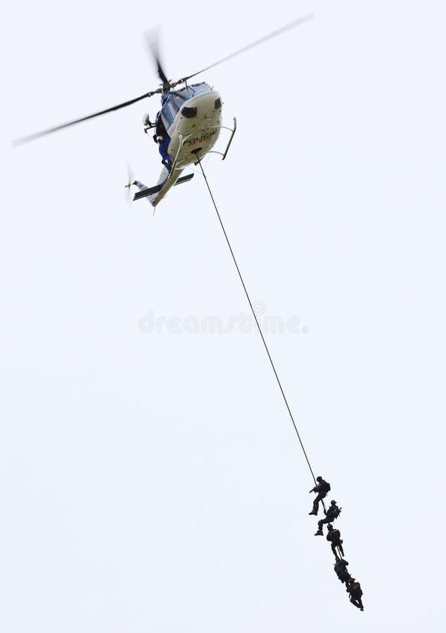 ομάδα αστυνομίας στοκ εικόνα