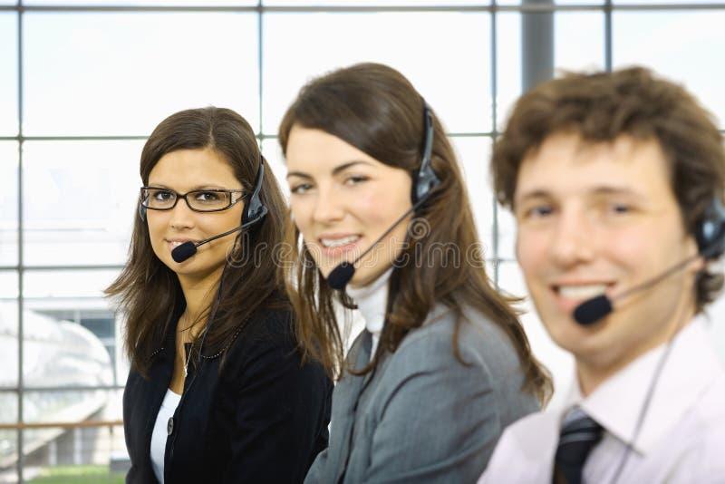 Ομάδα εξυπηρέτησης πελατών στοκ εικόνες