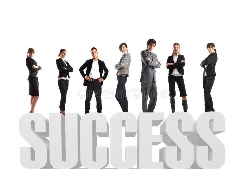 ομάδα επιτυχίας ονείρου στοκ φωτογραφία με δικαίωμα ελεύθερης χρήσης
