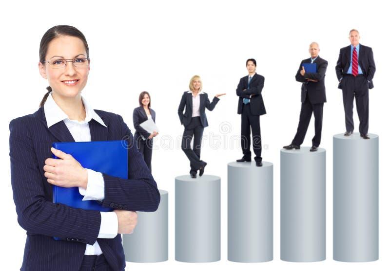 ομάδα επιχειρηματιών στοκ φωτογραφία