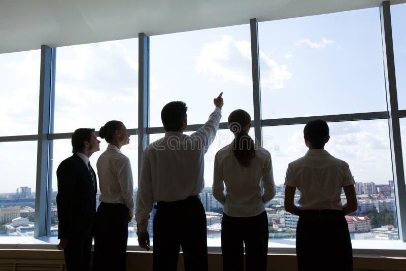 ομάδα ηγετών στοκ εικόνα