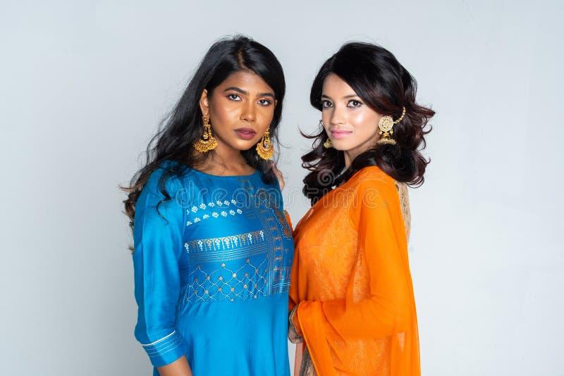 Ομάδα ινδικών γυναικών στοκ εικόνες