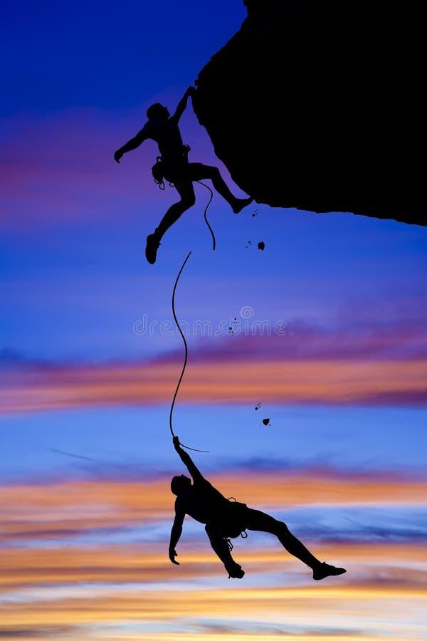 ομάδα κινδύνου ορειβατών στοκ φωτογραφίες με δικαίωμα ελεύθερης χρήσης