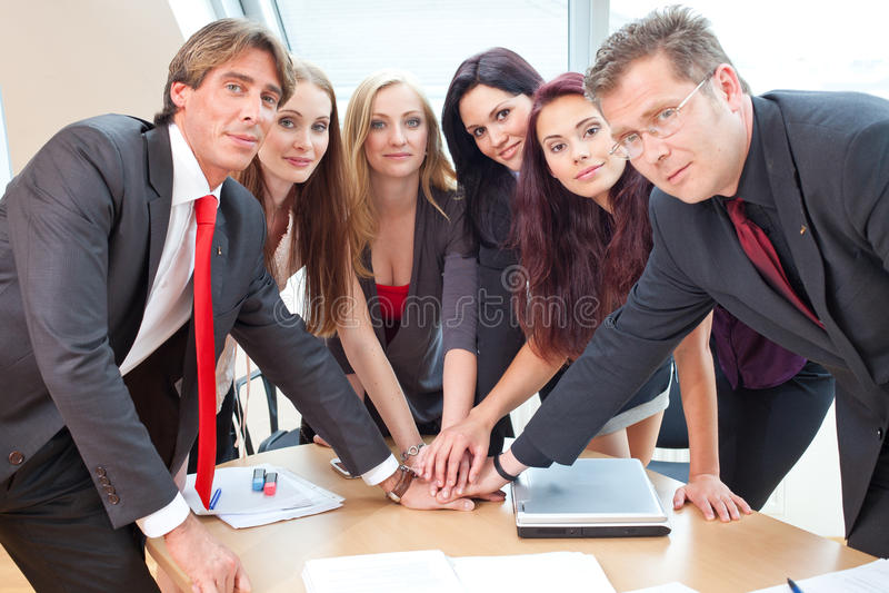 ομάδα μεγάλης επιχείρηση&s στοκ εικόνα