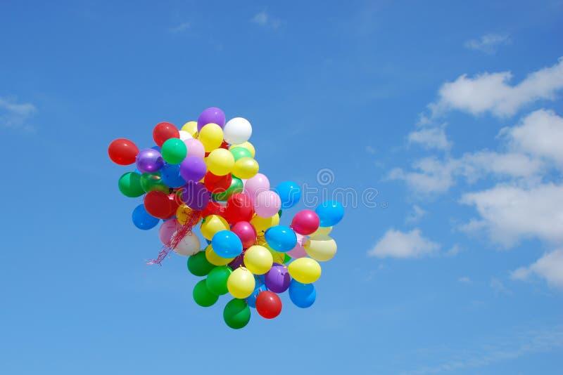 ομάδα μπαλονιών στοκ εικόνες