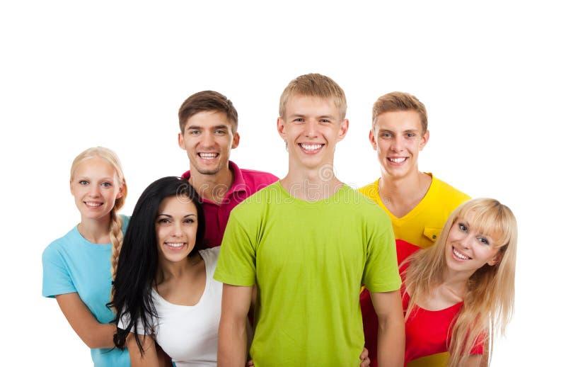 Ομάδα νέων στοκ εικόνα με δικαίωμα ελεύθερης χρήσης