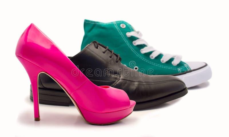 Ομάδα παπουτσιών στοκ εικόνες με δικαίωμα ελεύθερης χρήσης