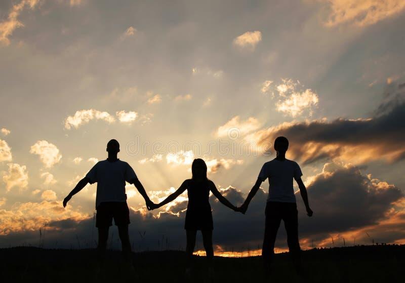ομάδα που ενώνεται στοκ εικόνα με δικαίωμα ελεύθερης χρήσης