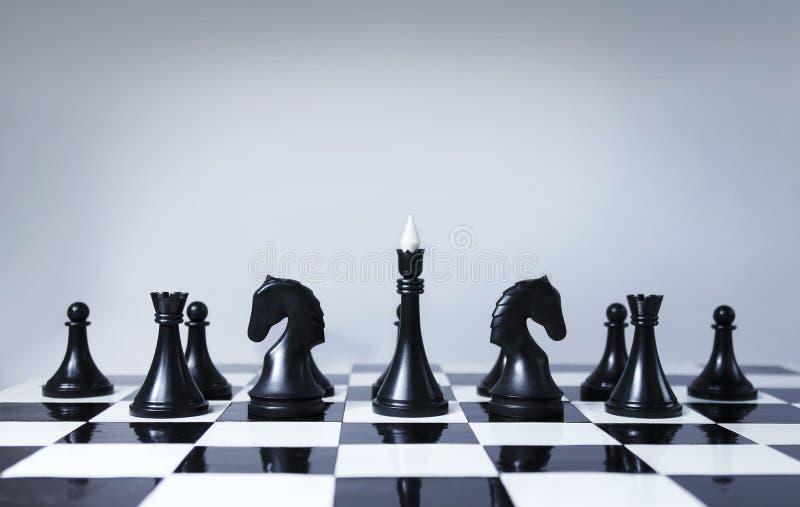 Ομάδα σκακιού στοκ εικόνα