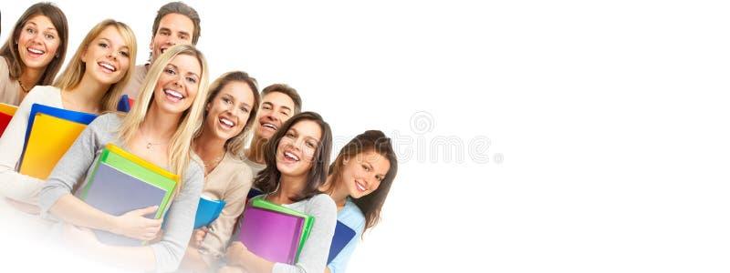 Ομάδα σπουδαστών στοκ φωτογραφίες με δικαίωμα ελεύθερης χρήσης