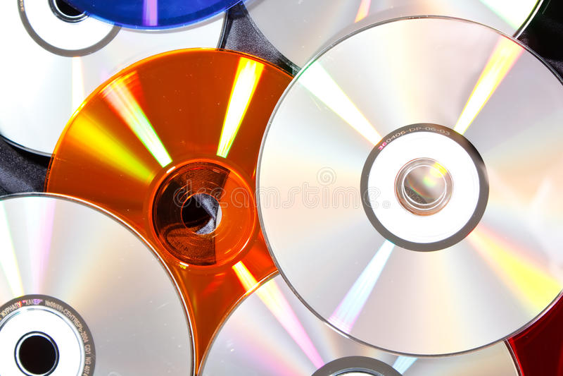 Download ομάδα των CD στοκ εικόνες. εικόνα από μέσο, συμπαγής - 13187714