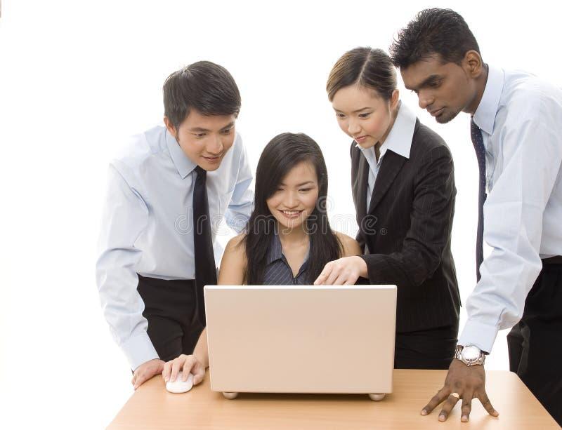 ομάδα 2 επιχειρήσεων στοκ φωτογραφίες