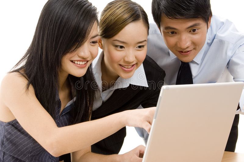 ομάδα 6 επιχειρήσεων στοκ φωτογραφία με δικαίωμα ελεύθερης χρήσης