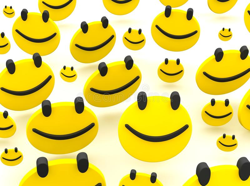 Download ομάδα smileys απεικόνιση αποθεμάτων. εικονογραφία από εικόνα - 13189600