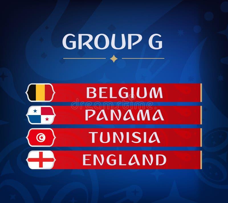 Ομάδες πρωταθλήματος ποδοσφαίρου Σύνολο εθνικών σημαιών Σύρετε το αποτέλεσμα Παγκόσμια πρωταθλήματα ποδοσφαίρου Realistic Footbal απεικόνιση αποθεμάτων