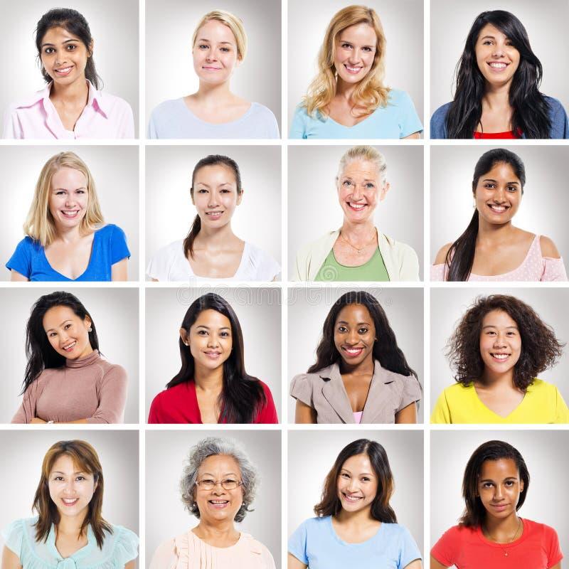 Ομάδα ανθρώπων πολυ-Ethnics στοκ εικόνα