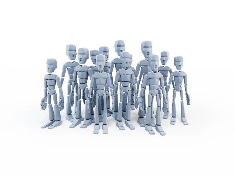 Ομάδα ανθρώπων απεικόνιση αποθεμάτων