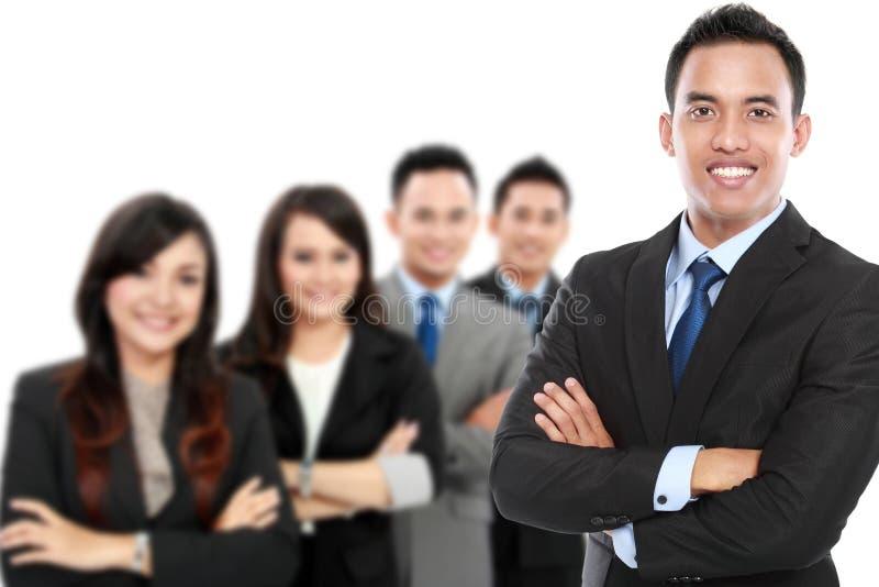 Ομάδα ασιατικού νέου businessperson στοκ φωτογραφία με δικαίωμα ελεύθερης χρήσης