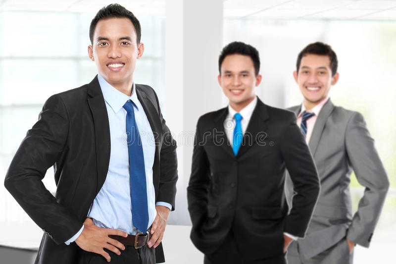 Ομάδα ασιατικού νέου businessperson στοκ φωτογραφία