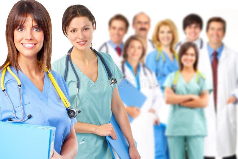 Ομάδα ιατρού. στοκ φωτογραφίες