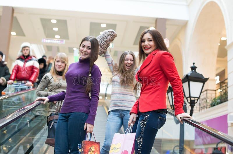Ομάδα κοριτσιών στοκ φωτογραφίες με δικαίωμα ελεύθερης χρήσης