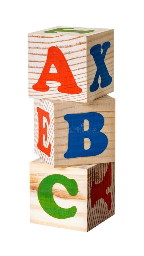 ομάδες δεδομένων ξύλινες αλφάβητο στοκ εικόνα με δικαίωμα ελεύθερης χρήσης