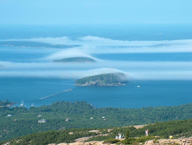 ομίχλη ζωνών στοκ εικόνες με δικαίωμα ελεύθερης χρήσης