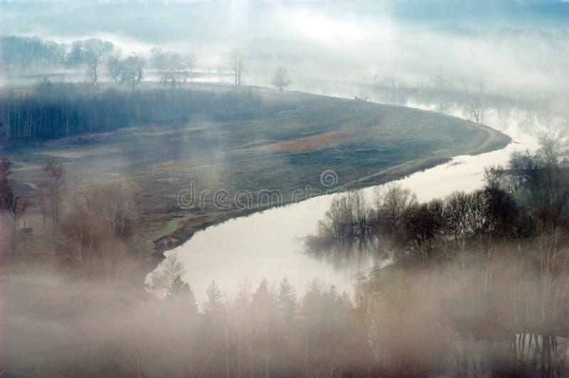 ομίχλη μυστήρια στοκ εικόνες