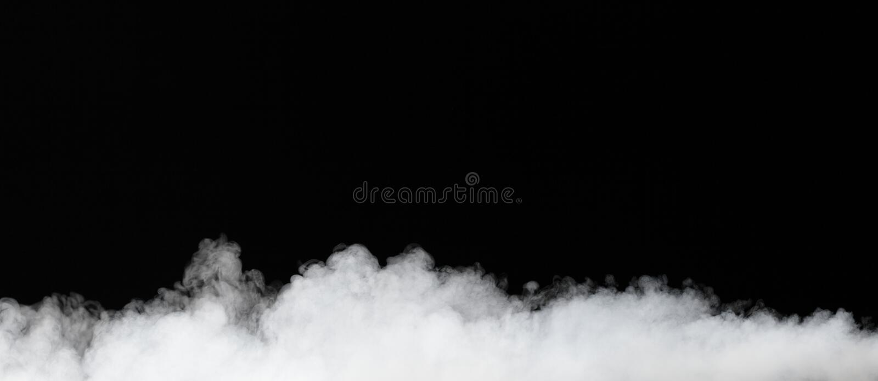 ομίχλη που απομονώνεται μ στοκ εικόνα με δικαίωμα ελεύθερης χρήσης