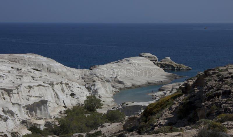 Ομαλοί βράχοι ακτών στοκ εικόνες