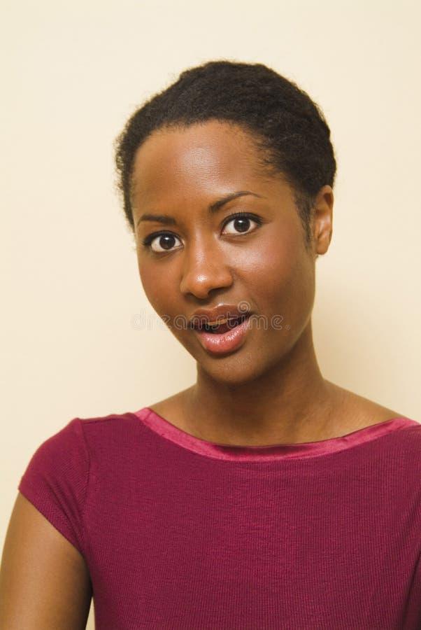 Download ομιλία πορτρέτου εκφράσεων στοκ εικόνα. εικόνα από μαύρα - 2230147