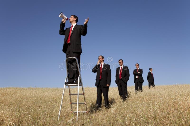 ομιλητής ευκαιρίας στοκ εικόνα με δικαίωμα ελεύθερης χρήσης