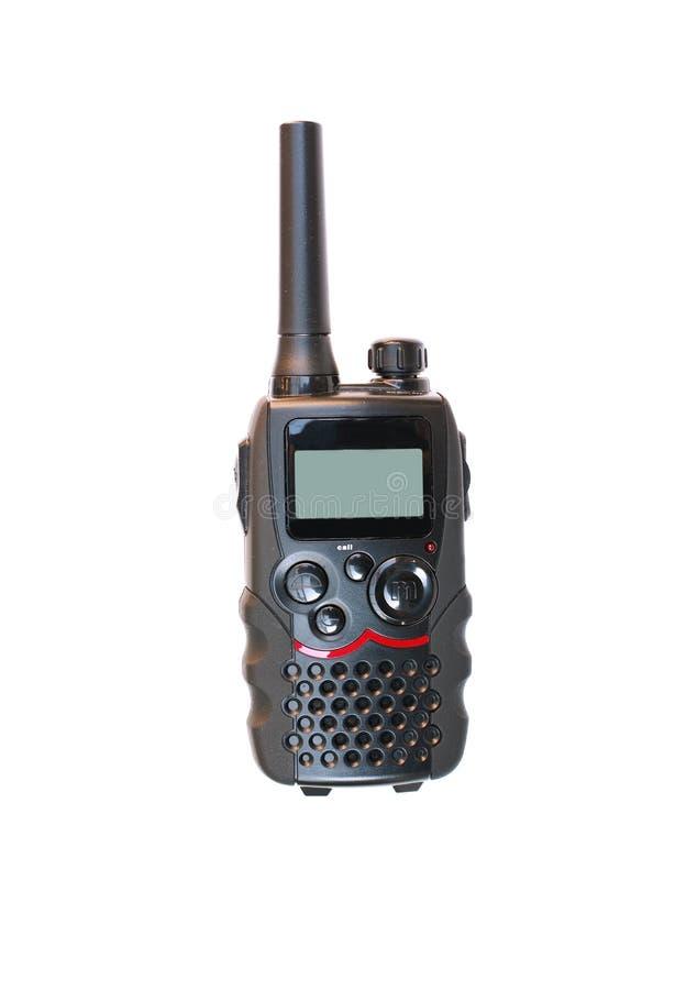 ομιλούσα ταινία walkie στοκ φωτογραφία