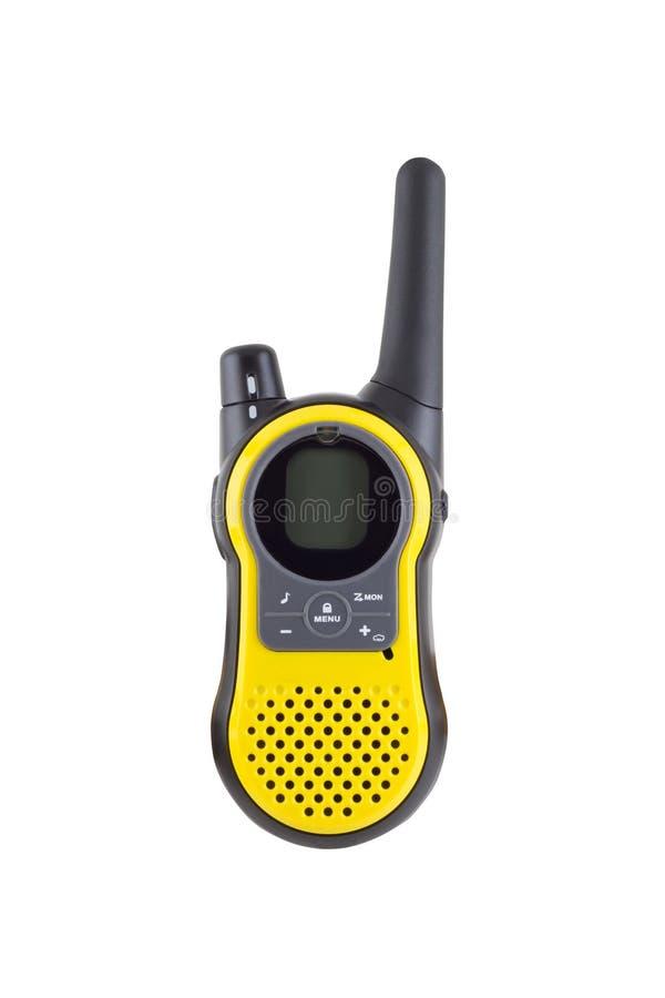 ομιλούσα ταινία walkie στοκ εικόνες