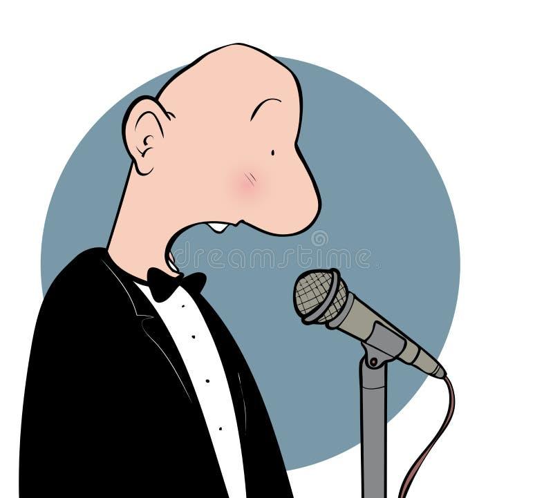 Ομιλητής διανυσματική απεικόνιση